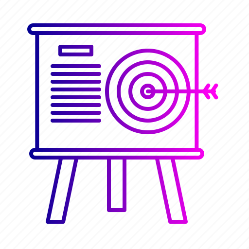business, company, future, goal, market, mission, target icon