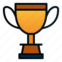 achievment, medal, trophy, winning icon