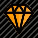 crystal, diamond, expensive, gemstone, rich, start, up icon