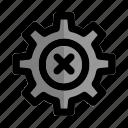 bureaucracy, decline, flow, process, settings, start, up icon