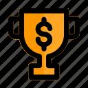 cup, reward, start, success, trophy, up, winner icon