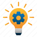 brainstorming, business, creative, idea, lamp, startup
