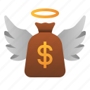 angel, business, investor, loan, money, startup