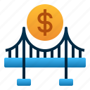 bridge, business, finance, loan, money, startup