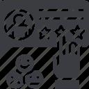customer, emotional, feedback, happy, review, satisfaction, survey icon