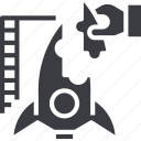 building, business, creative, developer, launch, rocket, startup