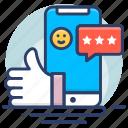 document, feedback, grant proposal, testimonial icon