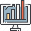 analysis, chart, data, digital, graph, statistic, statistics icon