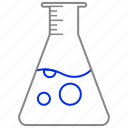 chemical, flask, lab, laboratory, research icon