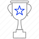 cup, loving, prize, trophy, win icon