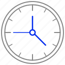 alarm, clock, hour, time, whatch icon