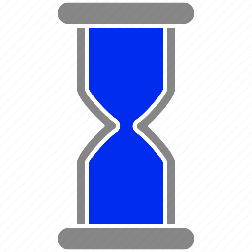 hourglass, sandglass, time, timer icon