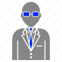 avatar, manager, person, tasks icon