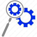 loupe, marketing, optimization, search, seo icon