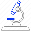 laboratory, lap, medical, microscope, research icon