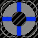 belt, help, life, lifebuoy, support icon