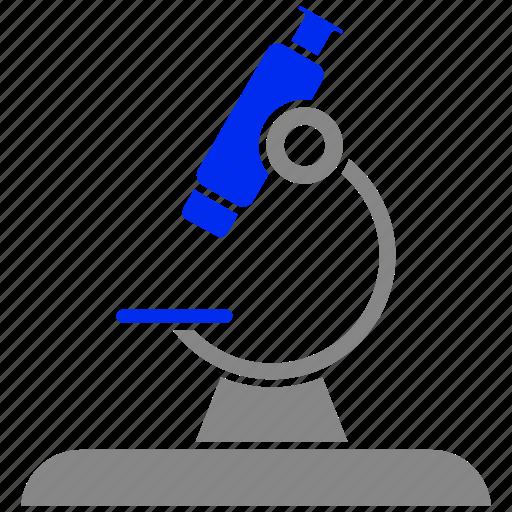 laboratory, lap, microscope, research, science icon