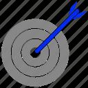 bullseye, focus, goal, success, target icon