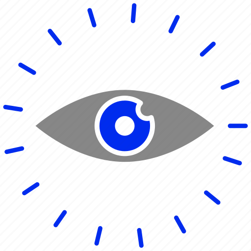 eye, find, look, view, vision icon