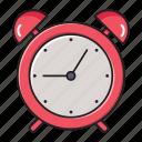 alarm, alert, clock, notification, time