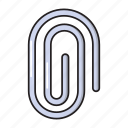 attach, clip, office, stationary, tools icon