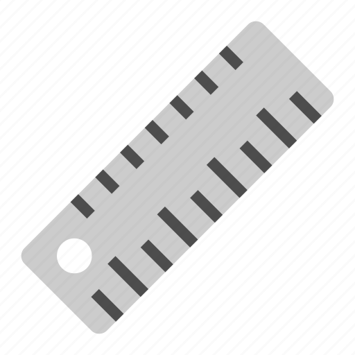 measure, ruler, school, stationary, tool icon
