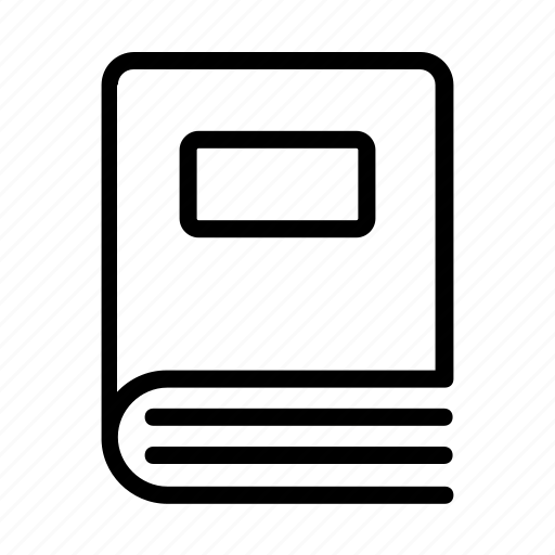 book, office, pen, pencil, stationery icon