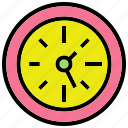 clock, hour, stationary, watch icon