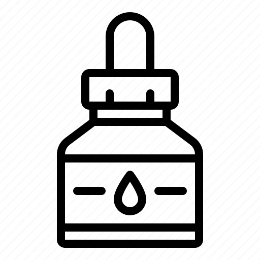 bottle, ink, office, pen, stationery icon