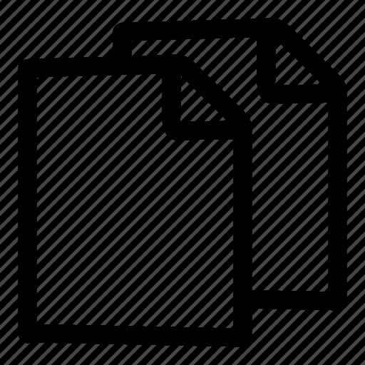 copy, data, documents, duplicate, files, storage icon