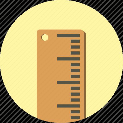 calculate, measure, ruler icon