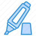 highlighter, marker, edit, permanent, underline, highlight, text