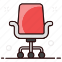 armchair, chair, furniture, recliner, seat, swivel chair icon