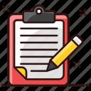 copywriting, drafting, drafting pad, jotter, notepad, pad, writing pad icon