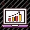 chart, data analytics, data infographic, growth, growth chart, online analytics, online graph