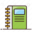 address book, book, phone directory, contacts, phone book, phone, contacts book icon