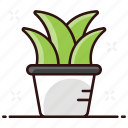 domestic plant, indoor plant, natural plant, plant, plant vase, potted, potted plant icon