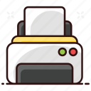 output device, printer, printing machine, typesetter, wireless printer icon