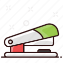 staple gun, staple press, stapler, stationery item, tacker icon
