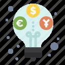 budget, income, profit, revenue icon