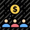 banker, capitalist, economist, money icon