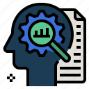 analysis, assess, consider, process, statistical analysis icon