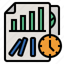 failure, investment, business risks, predict future trends for minimize risks, statistical analysis icon