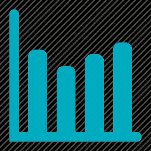 chart, diagram, graph, statistics icon