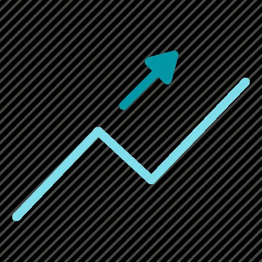 chart, graph, profit, statistics, up icon