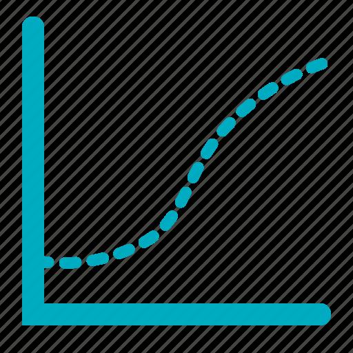 chart, curve, graph, statistics icon