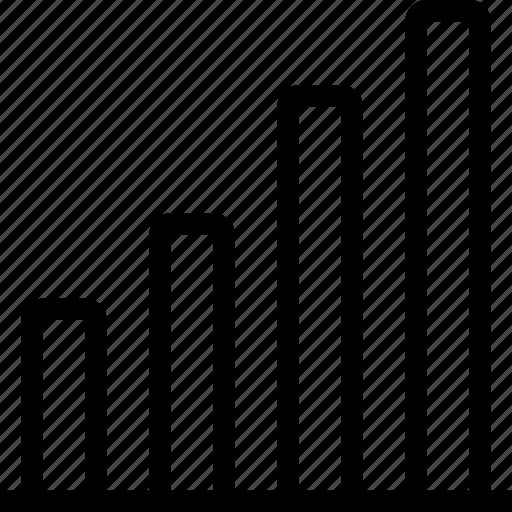 analytics, bar, business, chart, data, graph icon