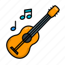 guitar, instrument, music, play, stayathome