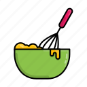 bake, cooking, spatula, stayathome, utensil