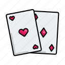 card, casino, game, playing, stayathome